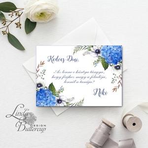 Tanú felkérő lap, Koszorúslány felkérő lap, Esküvői Képeslap, virágos, natúr, esküvői meghívó, tanú, esküvő, romantikus (LindaButtercup) - Meska.hu