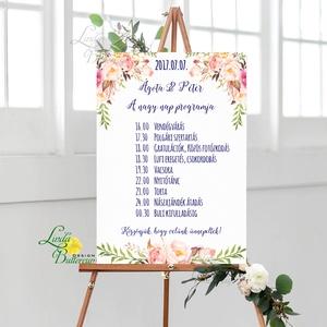 Esküvői Felirat A2, Köszöntő, Üdvözlő, idézet, romantikus, természetközeli, üzenet, virágos, trendi (LindaButtercup) - Meska.hu