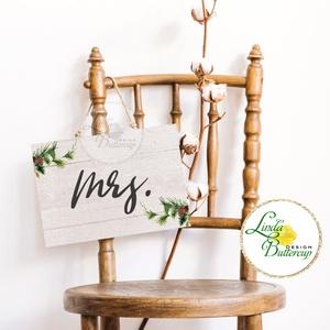 Esküvői Felirat A4, Esküvő Dekor, Papír poszter, tábla, Mr, Mrs, Esküvői felirat, természetközeli, erdei, erdő, zöld (LindaButtercup) - Meska.hu