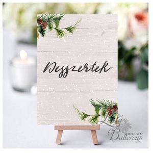 Esküvői kép, Dekoráció, kellék, Esküvői lap, Esküvő Dekor, Esküvői felirat, téli, rusztikus, szarvas, őz, lámpás (LindaButtercup) - Meska.hu