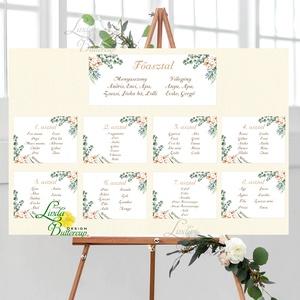 Ültetési rend, Asztalszámok, Esküvői ültetésirend, Ültetők, Ültetésrend, Esküvő dekor, Esküvő ültető kártya, bohém, Esküvő, Ültetési rend, Meghívó & Kártya, Fotó, grafika, rajz, illusztráció, Papírművészet, Meska