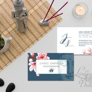 """Fotós névjegykártya, Egyedi Tervezés, buddha, címke, Névjegy, design, szerkesztés, szépségszalon, ajándékkísérő, logó, Naptár & Tervező, Papír írószer, Otthon & Lakás, Fotó, grafika, rajz, illusztráció, Papírművészet, Fotós Névjegykártya\n\nFotósnak, bárkinek aki egyedi stílusban szeretné vállalkozását \""""reklámozni\"""".\n\nE..., Meska"""