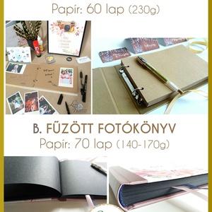 születésnpai ajándék, emlékkönyv, napló, receptkönyv, füzet, receptek, családi album, szülinapi, egyedi, személyre szól (LindaButtercup) - Meska.hu