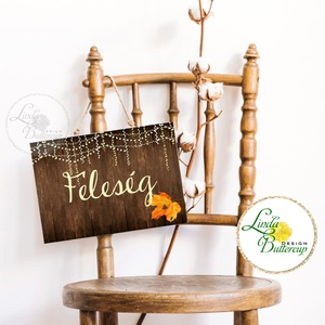 Esküvői Felirat A4, Esküvő Dekor, Papír poszter, tábla, Mr, Mrs, Esküvői felirat, természetközeli, fa, egyszerű, égők (LindaButtercup) - Meska.hu