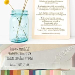 Kék Esküvői meghívó, vízfesték, vízfesték hatású, watercolor (LindaButtercup) - Meska.hu
