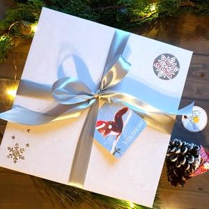 KARÁCSONYI CSOMAG, Egyedi naptár, könyvjelző, 2020 naptár, Karácsonyi Kép, Adventi Képeslap, ajándékkísérő, névreszóló, Karácsonyi képeslap, Karácsony & Mikulás, Otthon & Lakás, Fotó, grafika, rajz, illusztráció, Mindenmás, TELJES KARÁCSONYI CSOMAG:\n\nDOBOZ TARTALMA: \n* Egyedi borítású 2020-as Naptár: kényelmesen táskában h..., Meska
