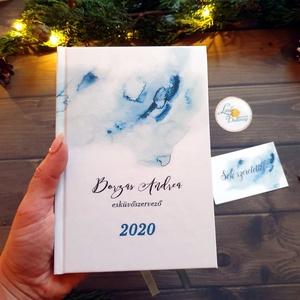 2020-as naptár, kalendár, zsebnaptár, Egyedi naptár, könyvjelző, 2020 naptár, egyedi, Karácsonyi ajándék, névreszóló (LindaButtercup) - Meska.hu