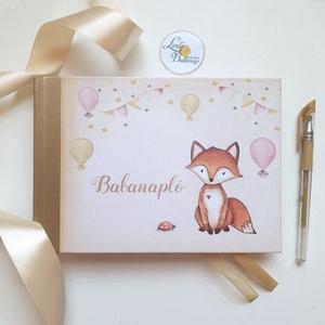 Babanapló, baba könyv, megérkeztem, babváró ajándék (LindaButtercup) - Meska.hu