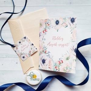 Anyák napi Képeslap, Kísérőkártyával együtt, Anyának, Anya lap, Anyák napja, virágos üdvözlőlap, Anyáknapi ajándék, AL9, Otthon & Lakás, Képeslap & Levélpapír, Papír írószer, Anyák napi Képeslap  * Kinyithatós képeslap: méret: kb. A6 * Belül üres * Papír: 250g-os művészpapír..., Meska