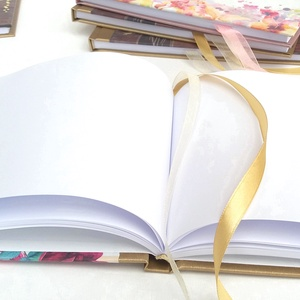 Kék bordó Esküvői Emlékkönyv, Vendégkönyv, könyv, Esküvői vendégkönyv, kék virágos - esküvő - emlék & ajándék - vendégkönyv - Meska.hu