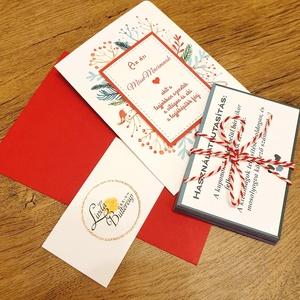 kívánság kuponok karácsonyra, Kívánság Kuponok, Vicces Ajándék, Kupon, Évforduló, Születésnapi Kártyák, ajándékkártyák, Karácsony & Mikulás, Karácsonyi képeslap, Festészet, Fotó, grafika, rajz, illusztráció,  Egyedi Ajándék Kívánság Kupon Szett\n\nA Szett tartalma:\n* 1db Képeslap : mérete: A6, belül üres\n--> ..., Meska