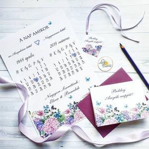 Anyák napi ajándék csomag, A4-es PRINT+képeslap borítékkal+kísérőkártya: ajándék csomagolásban - Meska.hu