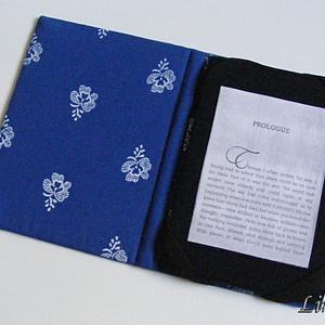 Ebook olvasó (Kindle Touch; Kindle 4; Kindle 5; Kindle Paperwhite) kemény tok, kalocsai minta (Lintu) - Meska.hu
