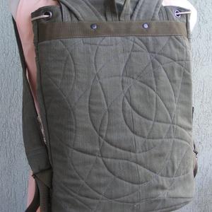 Terepszínű hátizsák (Lintu) - Meska.hu