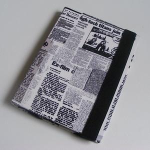 Ebook olvasó  kemény tok, újság, Táska & Tok, Laptop & Tablettartó, Ebook & Tablet tok, Varrás, Készleten lévő, azonnal rendelkezésre álló termék (a fotón az adásvétel tárgyát képező konkrét darab..., Meska