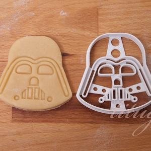 Star Wars - Darth Vader alakú sütemény kiszúró forma, Otthon & Lakás, Konyhafelszerelés, Sütikiszúró, Star Wars sütikiszúró, sütemény / Darth Vader kekszkiszúró   Darth Vader-t  formázó sütemény kiszúró..., Meska