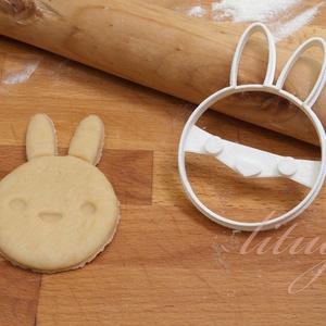 Húsvéti nyúl süteménykiszúró, Nyuszi, nyúl, nyuszkó kekszforma, mézeskalács szaggató - otthon & lakás - konyhafelszerelés - sütikiszúró - Meska.hu