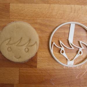 Kisfiú, fiú arc - sütemény keksz linzer marcipán fondant kiszúró forma, Konyhafelszerelés, Otthon & lakás, Gyerek & játék, Fotó, grafika, rajz, illusztráció, Mindenmás, Aranyos kisfiú arcot formázó sütemény kiszúrót / szaggatót is készítettünk.\n\n8 cm x 8 cm\n\nA siker ér..., Meska