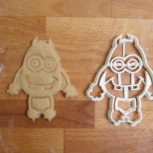 Monster 2, szörny, szörnyecske sütemény, linzer keksz marcipán fondant kiszúró forma, Otthon & Lakás, Sütikiszúró, Konyhafelszerelés, Egy egész csapat jópofa (süti)szörny várja, hogy a gyerkőcöket szórakoztassa a következő szülinapi b..., Meska