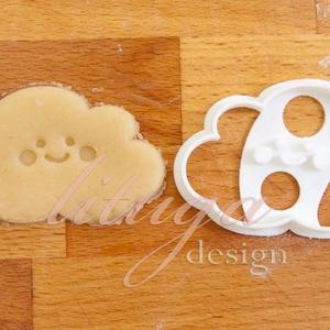 KICSI Felhő (mosolygós) sütemény keksz linzer kiszúró forma , Konyhafelszerelés, Otthon & lakás, Gyerek & játék, Fotó, grafika, rajz, illusztráció, Mindenmás, Sokak kérésére kisebb méretekben is elkezdtük gyártani formáinkat. \n\nA felhőt formázó sütemény kiszú..., Meska