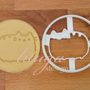 Cica kekszkiszúró, macska mézeskalács forma, sütemény kiszúró sütikiszúró forma, Otthon & Lakás, Konyhafelszerelés, Sütikiszúró, Aranyos cica sütikiszúró forma, cica kekszkiszúró, cicás sütikiszúró, cica mézeskalács forma    Mére..., Meska