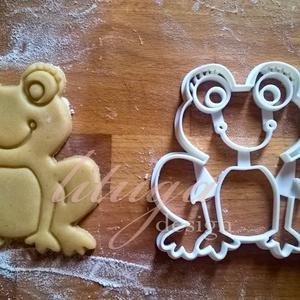 Béka süteménykiszúró, breki békaLÁNY  sütemény kiszúró, kekszforma, linzer, Sütikiszúró, Konyhafelszerelés, Otthon & Lakás, Mindenmás, Mézeskalácssütés, Állatos keksz kiszúró sorozatunk következő tagja: most békát (lány, szempillákkal! :)) formázó sütem..., Meska