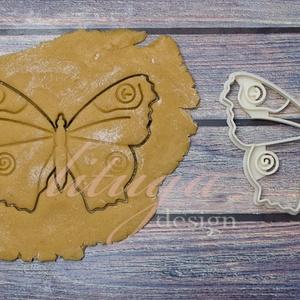 Pillangó lepke keksz linzer kiszúró forma, szaggató, Otthon & Lakás, Sütikiszúró, Konyhafelszerelés, Pillangó, lepke alakú  sütemény keksz linzer kiszúró forma, szaggató  Szép méretes darab lett, 11,5 ..., Meska