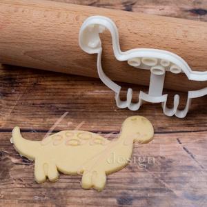 """Dínós süteménykiszúró forma - """"Brontosaurus"""", Otthon & Lakás, Sütikiszúró, Konyhafelszerelés, Egy egész csorda jópofa (süti)brontoszaurusz (vagyis helyesen apatoszaurusz...igen, mi is dínószakér..., Meska"""