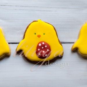 Kiscsibe, Húsvéti csibe, kiscsirke süteménykiszúró forma (lituga) - Meska.hu