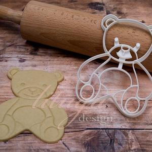Teddy mackó süteménykiszúró forma - Medve, Mackó, Medvebocs süteménykiszúró forma (sutisaurus) - Meska.hu
