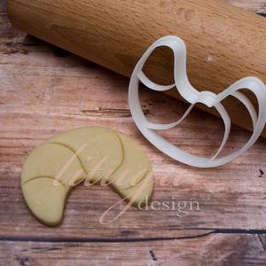Croissant sütemény keksz linzer kiszúró forma, Otthon & Lakás, Sütikiszúró, Konyhafelszerelés, Croissant sütemény kiszúró / szaggató, keksz, linzer forma, önmagában is mutatós, de nagyon szépen l..., Meska
