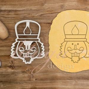 Diótörő sütemény linzer keksz kiszúró forma (7,5 cm) - karácsony mézeskalács, Konyhafelszerelés, Otthon & lakás, Dekoráció, Ünnepi dekoráció, Karácsony, Fotó, grafika, rajz, illusztráció, Mindenmás, Diótörő fej sütemény keksz linzer mézeskalács kiszúró forma\n\nA közelgő télre és téli ünnepekre készü..., Meska