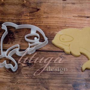 Orka süteménykiszúró, Gyilkos bálna süteménykiszúró, mézeskalács forma, keksz, linzer kiszúró, Otthon & Lakás, Sütikiszúró, Konyhafelszerelés, Állatos sorozatunk következő tagja: gyilkos bálnát formázó sütemény kiszúrót / szaggatót készítettün..., Meska