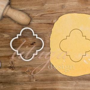 """""""Mia"""" vintage tábla (7-es) süteménykiszúró, kekszkiszúró linzer, mézeskalács szaggató forma, Otthon & Lakás, Sütikiszúró, Konyhafelszerelés, """"Mia"""" fantázianevű, szép íves szélű, vintage táblát formázó sütemény kiszúró / szaggató, kekszkiszúr..., Meska"""