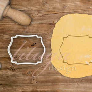 """""""Sue"""" vintage tábla (4-es) süteménykiszúró, kekszkiszúró linzer, mézeskalács szaggató forma, Otthon & Lakás, Sütikiszúró, Konyhafelszerelés, """"Sue"""" fantázianevű, szép íves, vintage táblát formázó sütemény kiszúró / szaggató, kekszkiszúró, méz..., Meska"""