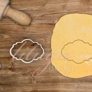 """""""Tony"""" vintage tábla (12-es) süteménykiszúró, kekszkiszúró linzer, mézeskalács szaggató forma, Otthon & Lakás, Sütikiszúró, Konyhafelszerelés, """"Tony"""" fantázianevű, szép íves vintage táblát formázó sütemény kiszúró / szaggató, kekszkiszúró, méz..., Meska"""
