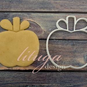 Alma süteménykiszúró, kekszkiszúró, linzer szaggató forma, Otthon & lakás, Konyhafelszerelés, Mindenmás, Mézeskalácssütés, Alma sütemény kiszúró, kekszkiszúró linzer szaggató forma, alma mézeskalács forma, három méretben ka..., Meska