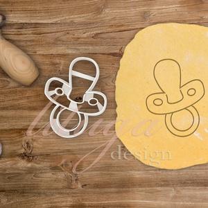 Cumi -  Babaváró egyedi sütemény kiszúró forma, Otthon & Lakás, Sütikiszúró, Konyhafelszerelés, Különleges, egyedi babaváró, kisbaba érkezését ünneplő, jelképező sütemény kiszúró, kekszkiszúró for..., Meska