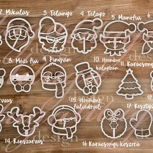 ÚJ! 2019-es új Karácsonyi süteménykiszúró szettek, kekszkiszúró szettek - Állítsd össze a Te kedvenc szettedet! :), Otthon & Lakás, Sütikiszúró, Konyhafelszerelés, Idén valami újdonsággal szerettünk volna előrukkolni: lehetőség van az új, 2019-es Karácsonyi kiszúr..., Meska