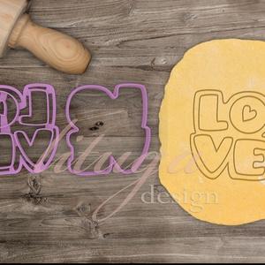 LOVE - Szerelem, szeretet, egyedi esküvői sütemény kiszúró Valentin napra, Sütikiszúró, Konyhafelszerelés, Otthon & Lakás, Fotó, grafika, rajz, illusztráció, Mindenmás, Love feliratot formázó sütemény kiszúrót készítettünk, a szerelem, szeretet jegyében :)\n\nValentin na..., Meska