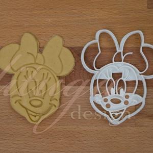 Minnie Mouse süteménykiszúró forma, Sütikiszúró, Konyhafelszerelés, Otthon & Lakás, Mindenmás, Mézeskalácssütés, Disney klasszikusa, Minnie Mouse is megihletett minket, így őt is süti formába öntöttük :) Hű párja,..., Meska