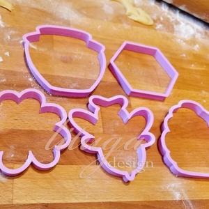 Méhes, mézes szett süteménykiszúró, linzer, mézeskalács forma, keksz forma, Sütikiszúró, Konyhafelszerelés, Otthon & Lakás, Mindenmás, Mézeskalácssütés, Méhes sütemény mézeskalács kiszúró / szaggató , linzer, keksz forma szett, méhecskés sütikiszúrók\n\nA..., Meska
