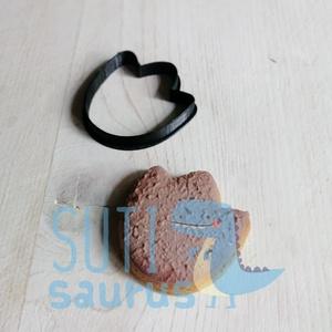 Mini dínó nyom süteménykiszúró forma (2020), Otthon & Lakás, Konyhafelszerelés, Sütikiszúró, Pici dínó talp lenyomat, dínó nyom sütikiszúró, kekszkiszúró, tökéletes kiegészítő a dínó mézeskalác..., Meska
