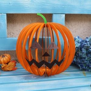Töklámpás fából, Halloween, Halloweeni dekoráció, Mindenmás, Meska