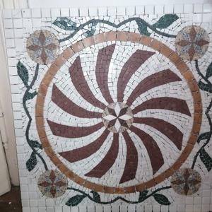 """Beépíthető mozaik \""""szőnyeg\"""", Otthon & Lakás, Dekoráció, Kavics & Kő, Mozaik, Burkolatba beépíthető mozaik \""""szőnyeg\"""".\nBejárati ajtó előtt illetve utána is, vagy bárhova a lakásba..., Meska"""