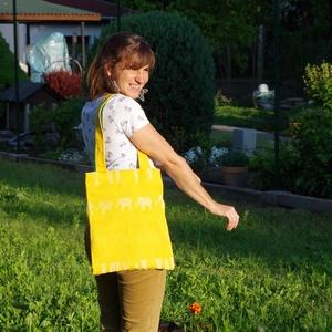 Kifordíthatós Lokni táska, Táska, Laptoptáska, Szatyor, Válltáska, oldaltáska, Varrás, Ez a táska bizony - Kézzel, szívvel-lélekkel készült és nagyon különleges. mert - Kifordítható, - Í..., Meska