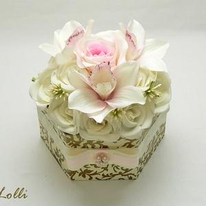 Egyedi virágdoboz - virág box (Lolli) - Meska.hu