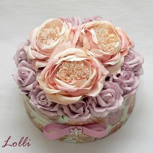 BigRoses virágdoboz - virágbox (Lolli) - Meska.hu