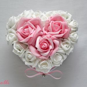 Kicsi szív box - virágbox, virágdoboz (Lolli) - Meska.hu