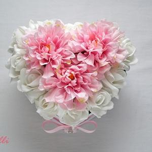 Közepes szív box - virágbox, virágdoboz (Lolli) - Meska.hu